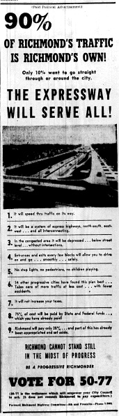 June 10 1950-The Expressway Will Serve All