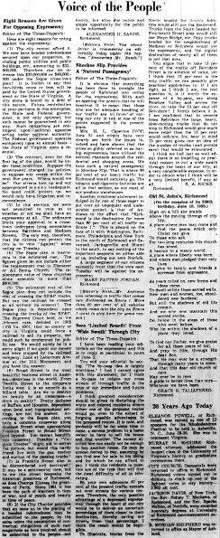 June 10 1950-Voice of the People.Opposition