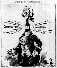 June 11 1950-Cartoon Strangled by a Bottleneck