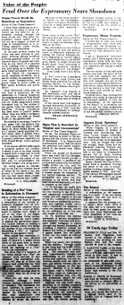 June 11 1950-Feud over the expressway nears showdown