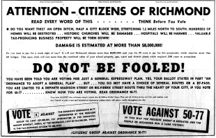 June 11 1950-Political Ad in Opposition think before you vote