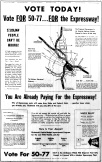 june 13 1950-VOTE TODAY full page ad-Political ad
