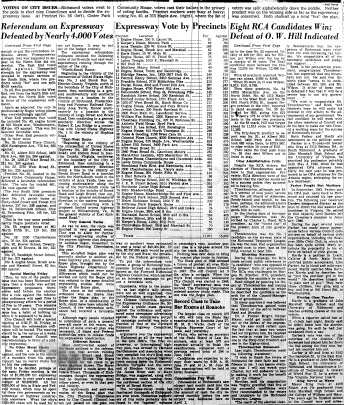 june 14 1950-news on expressway and city council vote-News (2)