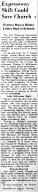 june 6 1950-expressway shift could save church-news