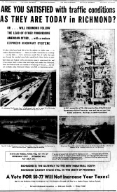 June 9 1950-Are You Satisfied With The Traffic Conditions … in Richmond