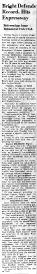 June 9 1950-Bright Defends His Record, Hits Expressway