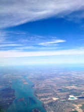 Detroit from the air