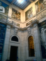 """Diego Rivera's """"Detroit Industry"""" murals at the DIA"""