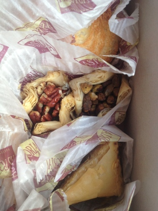 Pastries from Astoria in Greektown