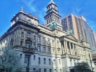 The Wayne County Courthouse is FOR SALE ... I can't believe it. Eminem should make this his house