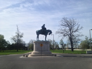 Monument on Belle Isle