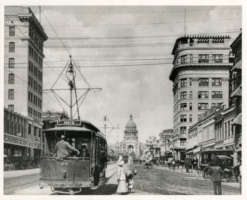 Austin street scene