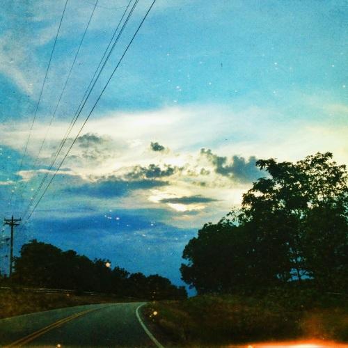 Highway in the Ozarks