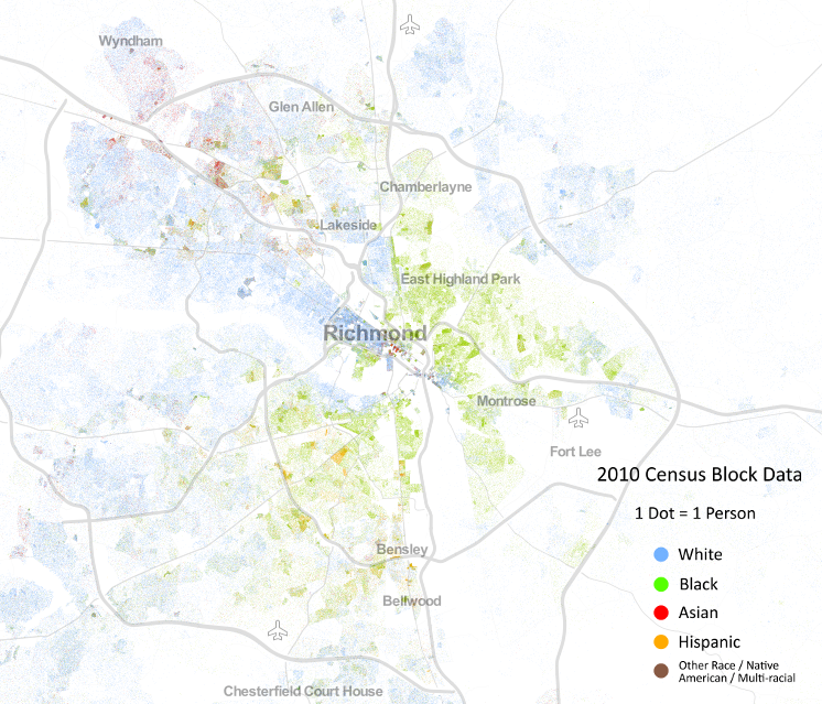 Racial Demographics In Richmond