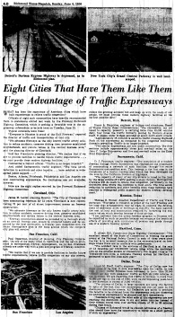 june 4 1950-eight cities with highways say they're good-news-propoganda