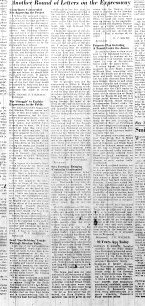 Nov. 1, 1951, Letters on the Expressway, p. 14