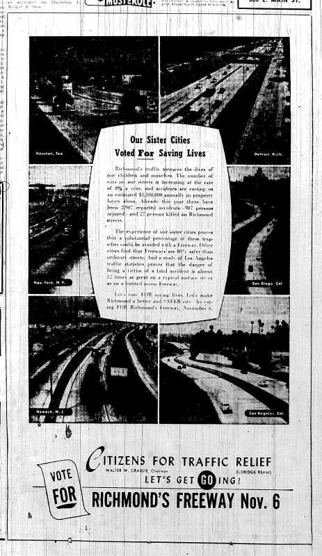 Nov. 1, 1951 p.8, Citizens for Traffic Relief