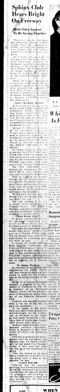 Nov. 2 1951, Sphinx Club Hears Bright on Freeway, p. 3
