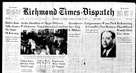 nov. 3 1951 front page