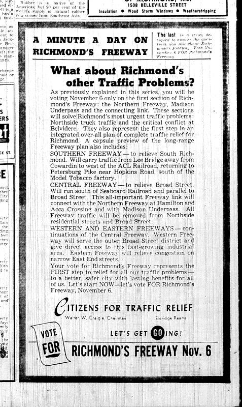 Nov. 3 1951, Richmonds traffic problems, p. 4