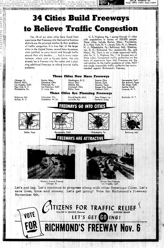 Nov. 4, 1951, 4-B, Political ad in favor