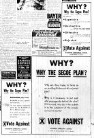 Nov. 5, 1951 Ad in opposition, WHY THE SEGOE PLAN, p. 2