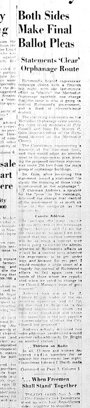 Nov. 6, 1951, Both sides make final plea, 1