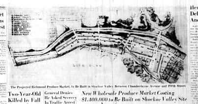 Nov. 6, 1951, Produce Market in Shokoe Valley, 4