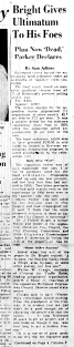 Nov. 7, 1951, Expressway Buried, 1