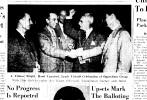 Nov. 7, 1951, J. Fulmer Bright celebrates victory with oppostion, 1